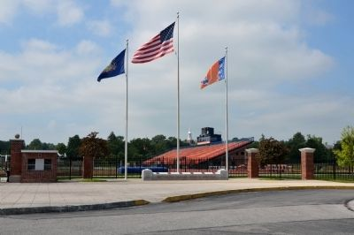 Gettysburg College Veterans Memorial image. Click for full size.