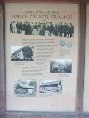 Welcome to the Seneca Council Grounds Marker image. Click for full size.