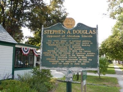 Stephen A. Douglas Marker image. Click for full size.
