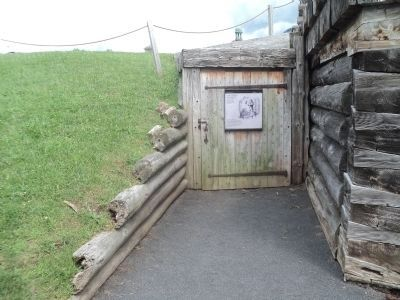Marker Inside Fort Stanwix image. Click for full size.
