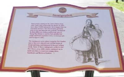 Immigration Marker image. Click for full size.