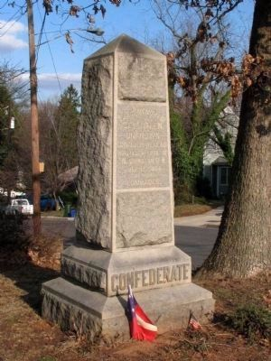 Confederate Monument<br>at Grace Episcopal Church image. Click for full size.