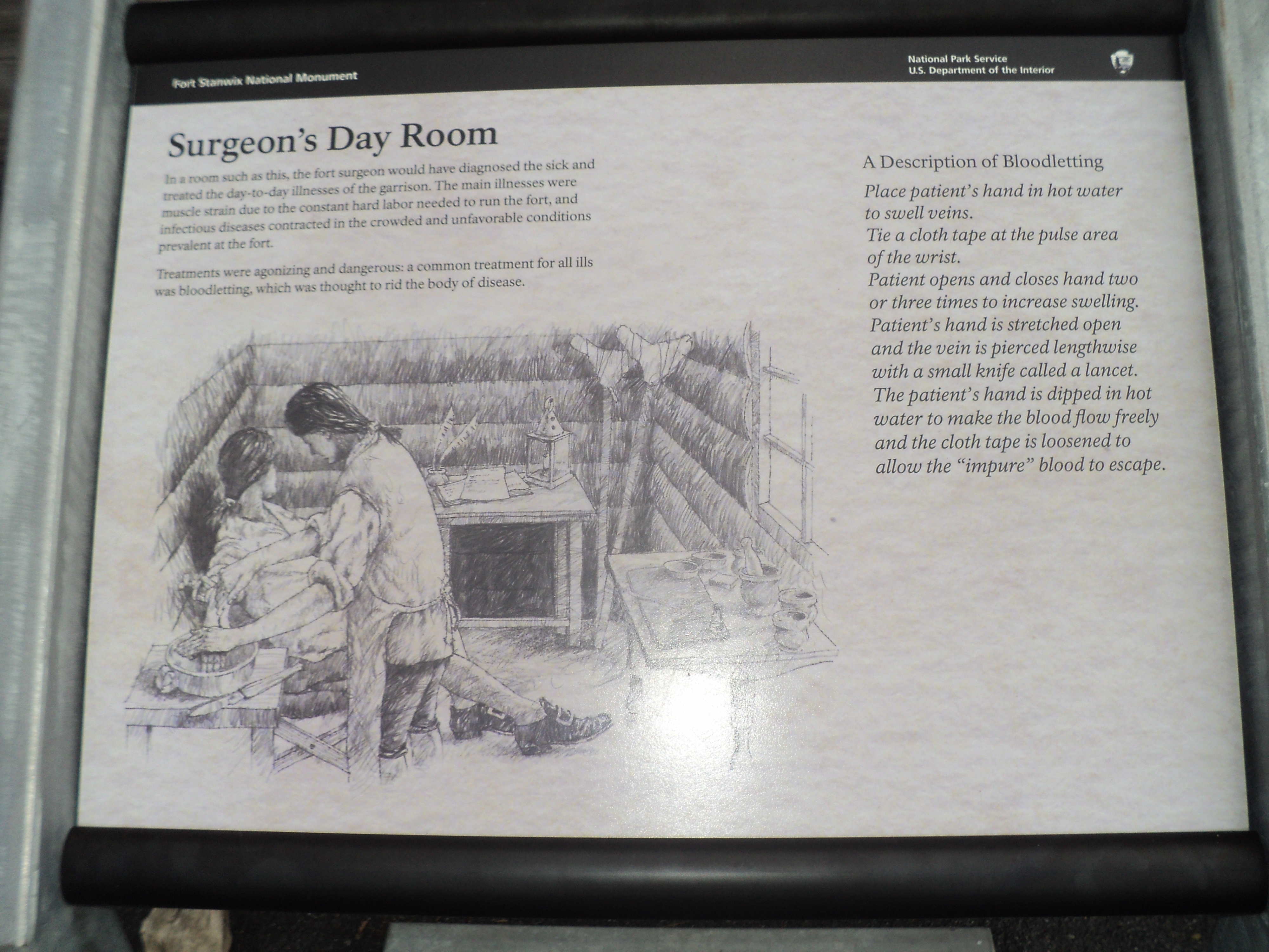 Surgeon's Day Room Marker