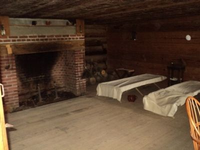 Surgeon's Day Room at Fort Stanwix image. Click for full size.