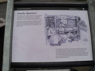 Family Quarters Marker image. Click for full size.