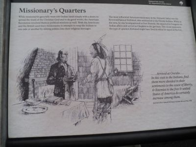 Missionary's Quarters Marker image. Click for full size.