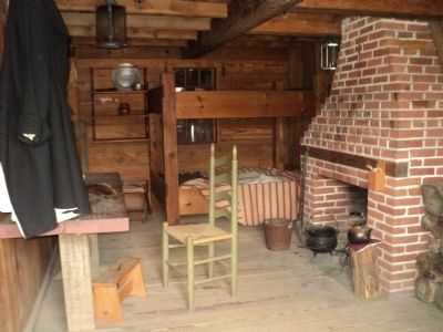 Inside the Missionary's Quarters at Fort Stanwix image. Click for full size.