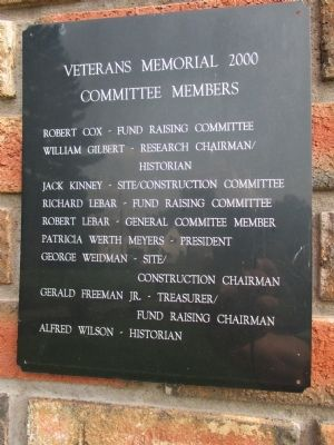 Dansville Honors Its Veterans of All Wars Marker image. Click for full size.