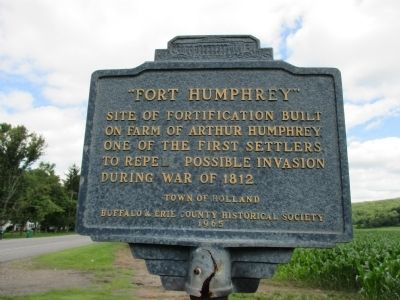 """Fort Humphrey"" Marker image. Click for full size."
