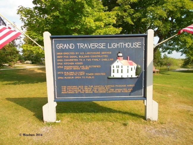 Grand Traverse Lighthouse Timeline image. Click for full size.