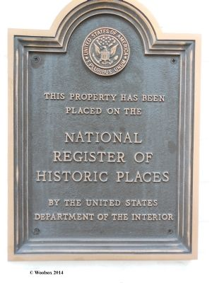 National Register of Historical Places Marker - Grand Traverse Lighthouse image. Click for full size.