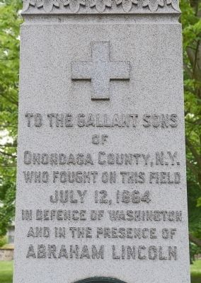 The 122nd New York Volunteer Infantry Marker image. Click for full size.