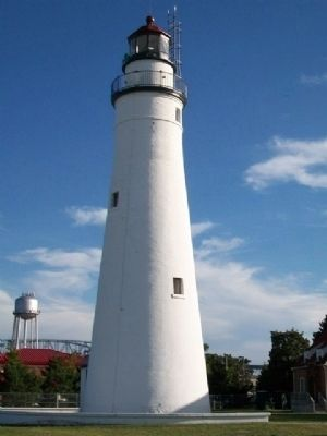 Fort Gratiot Lighthouse image. Click for full size.