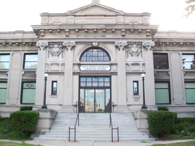 Port Huron Public Library image. Click for full size.