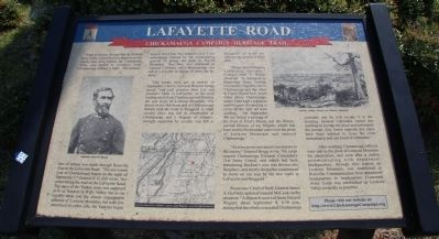 Lafayette Road Marker image. Click for full size.