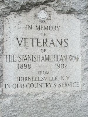 Hornellsville Veterans Memorial Marker image. Click for full size.