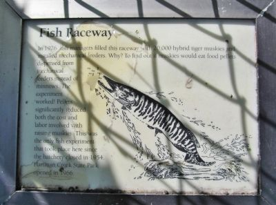 Fish Raceway Marker image. Click for full size.
