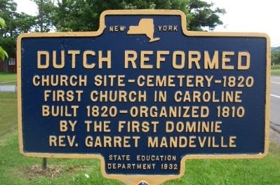 Dutch Reformed Marker image. Click for full size.