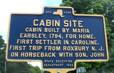 Cabin Site Marker image. Click for full size.