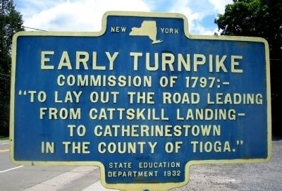 Early Turnpike Marker image. Click for full size.