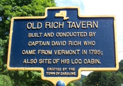 Old Rich Tavern Marker image. Click for full size.