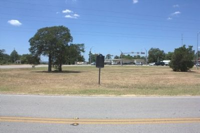 City of Bastrop Marker from across the street image. Click for full size.