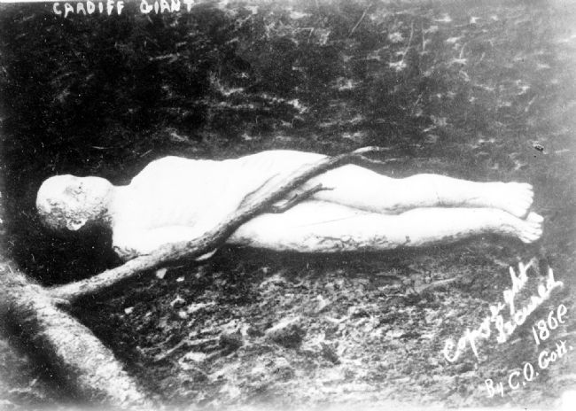 Cardiff Giant image. Click for full size.