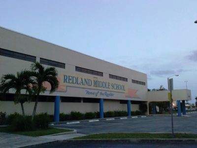Redland Middle School addition image. Click for full size.