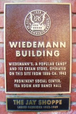 Wiedemann Building Marker image. Click for full size.