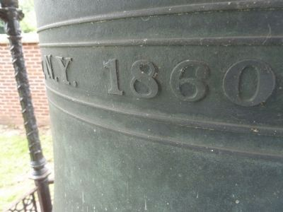 Bell of Old Dauphin County Courthouse image. Click for full size.