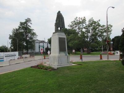 This Statue of the Honourable William Hamilton Merritt Marker image. Click for full size.