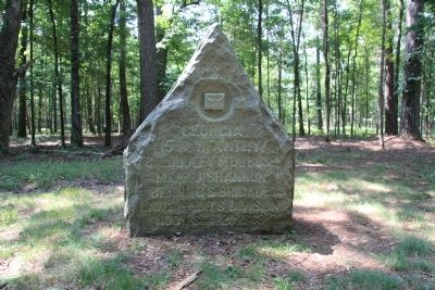 15th Georgia Infantry Marker image. Click for full size.