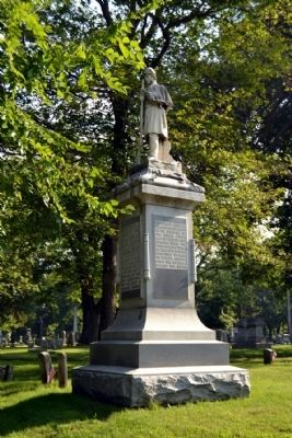 Elkhart Civil War Monument image. Click for full size.