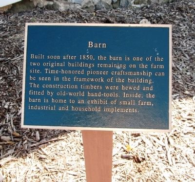 Barn Marker image. Click for full size.