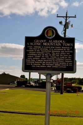 Grant, Alabama Marker image. Click for full size.
