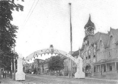 Arch Used In Ashland Boys' Association Scheme image. Click for full size.