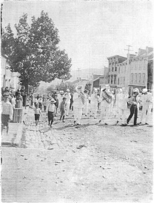 Ashland Boys' Association Home Staff Parade image. Click for full size.