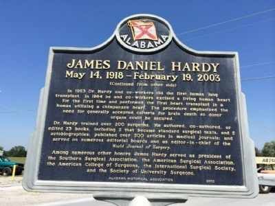 James Daniel Hardy Marker (side 2) image. Click for full size.