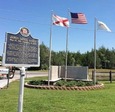 James Daniel Hardy Marker Area image. Click for full size.