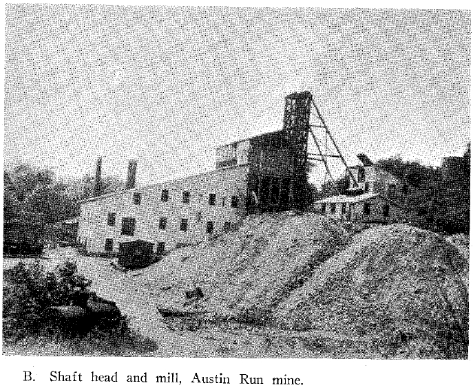 Shaft head and mill, Austin Run mine