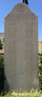 Shelby County War Memorial image. Click for full size.