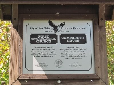 First Congregational Church / Community House Marker image. Click for full size.