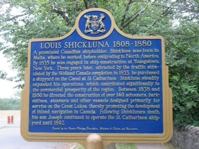 Louis Shickluna 1808-1880 Marker image. Click for full size.