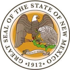 Great Seal of the State of New Mexico image. Click for full size.