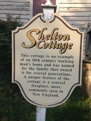 Shelton Cottage Marker image. Click for full size.
