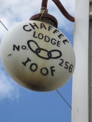 Odd Fellows Sign image. Click for full size.