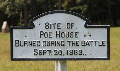 Site of Poe House Marker image. Click for full size.