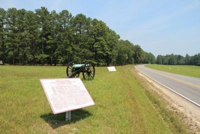Brown's Brigade Marker image. Click for full size.