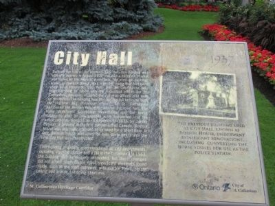 City Hall 1937 Marker image. Click for full size.