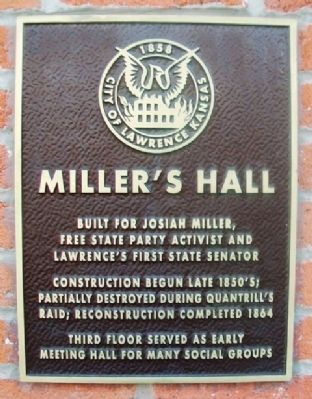 Miller's Hall Marker image. Click for full size.